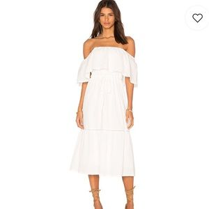 d6f402108c28a Lucy Paris senorita Bonita dress in white